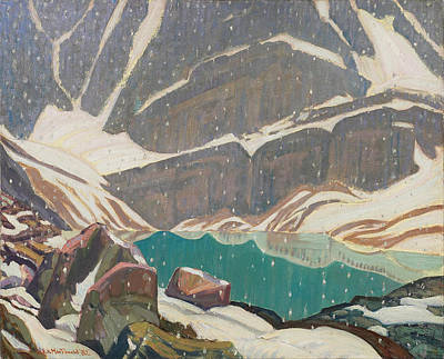 James Edward Hervey Macdonald Painting - Mountain Solitude Lake Oesa by James Edward Hervey MacDonald