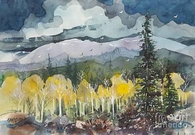 Mountain Storm Print by Micheal Jones