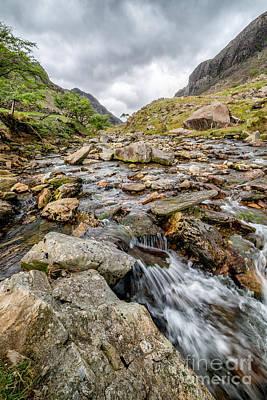 Mountain Stream Print by Adrian Evans