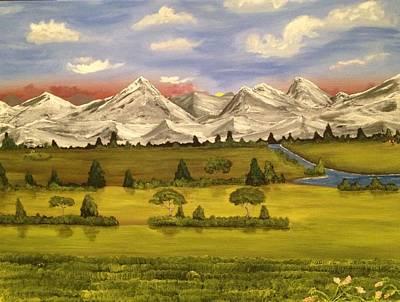 Mountain View Print by Scott Wilmot