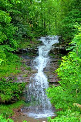Decor Photograph - Mountain Waterfall I by Paulette B Wright