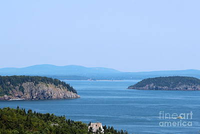 Acadia Photograph - Mountains And Islands by Kathleen Garman