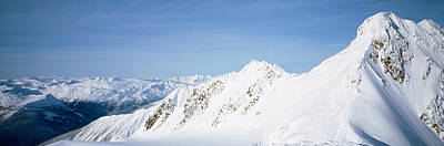 Mountains Covered With Snow, Cariboo Print by Panoramic Images