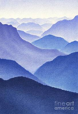 Mountains Print by Dirk Dzimirsky