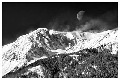 Mountains Of The Moon Print by Adele Buttolph