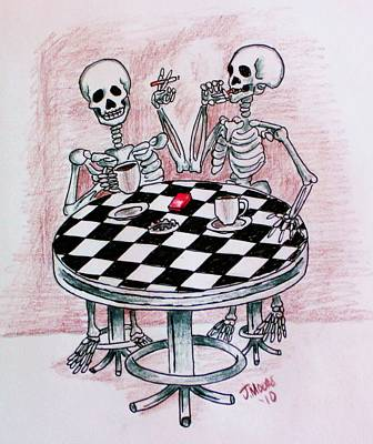 Mourning Coffee Print by Jeremy Moore