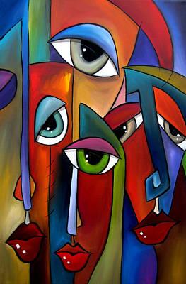Fidostudio Painting - Move Along By Fidostudio by Tom Fedro - Fidostudio
