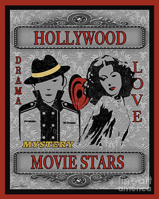 Movie Stars-jp2206 Original by Jean Plout