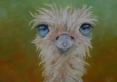 Mr Blue Eyes Original by Lori Hill