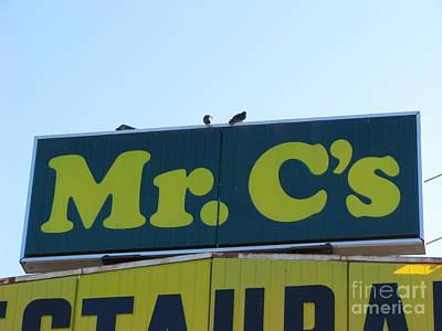 Mr. C 2 Print by Michael Krek