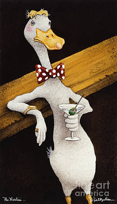 Indian Painting - Mr. Martini... by Will Bullas