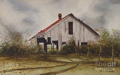 Mr. Munker's Old Barn Print by Charles Fennen