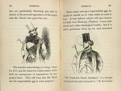 Mr Muzzle And Mr Frederick Flash Print by British Library