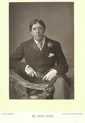 Oscar Photograph - Mr Oscar Wilde by British Library