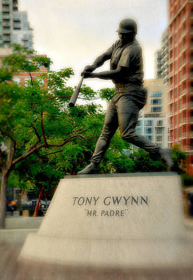 San Diego Padres Stadium Photograph - Mr. Padre- Hall Of Famer by See My  Photos