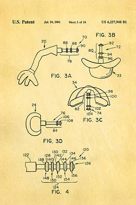 Potato Photograph - Mr Potato Head 2 Patent Art 2001 by Ian Monk