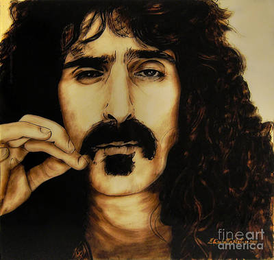 Elisabetta Artusi Painting - Mr Zappa by Betta Artusi