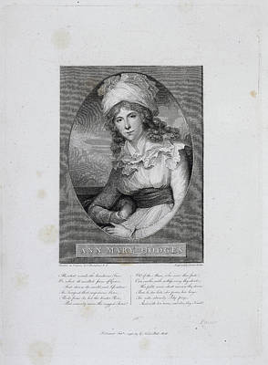 Mrs Ann Mary Hodges Print by British Library