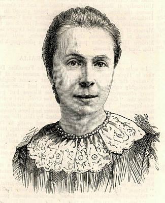 Mrs Sophia Bryant Print by Universal History Archive/uig