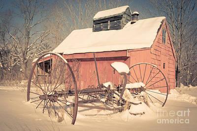 Mt. Cube Farm Old Sugar Shack Print by Edward Fielding