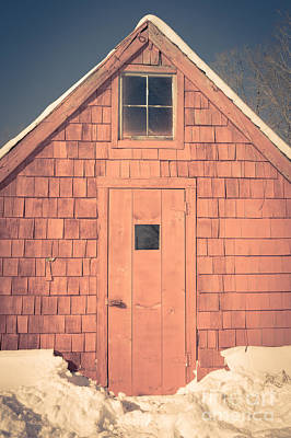 Shack Photograph - Mt. Cube Sugar Shack Orford New Hampshire by Edward Fielding