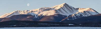 Mt. Elbert Print by Aaron Spong