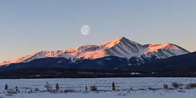 Mt. Massive Photograph - Mt. Elbert Sunrise by Aaron Spong