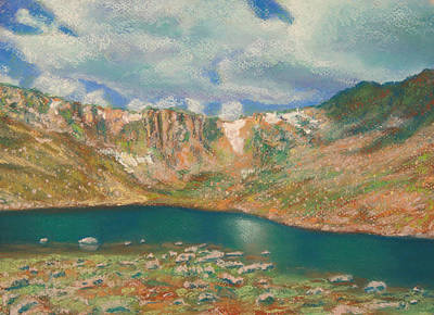 Pastel Painting - Mt. Evans by Abbie Groves