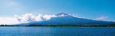 Ko Photograph - Mt Fuji & Tanuki-ko Shizuoka Japan by Panoramic Images