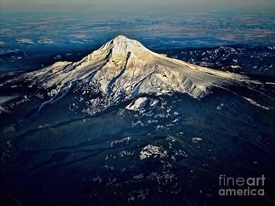 Mt Hood Print by Jon Burch Photography