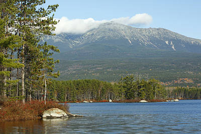 Mt. Katahdin Maine Print by Scott Leslie