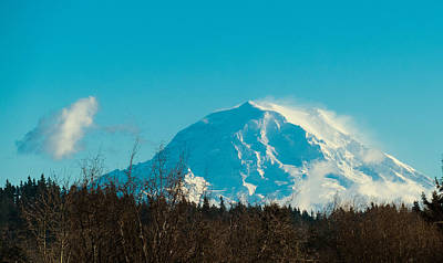 Photograph - Mt Raineer Washington by Ron Roberts