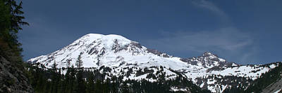 The Photograph - Mt Rainier Panoramic View From The South by Brian Harig