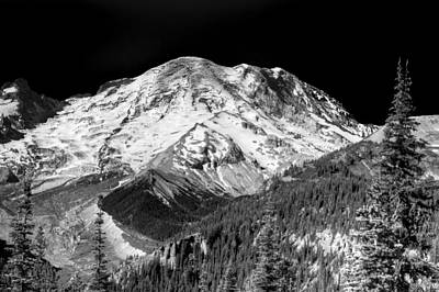Evergreen Photograph - Mt. Rainier Vii by David Patterson