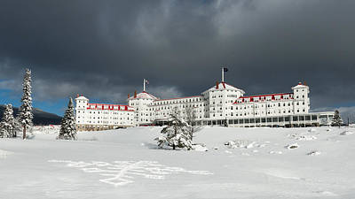 Winter Scenes Photograph - Mt. Washington Hotel by Joseph Smith