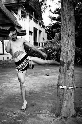 Muay Thai Sangha Print by Kristin Lau