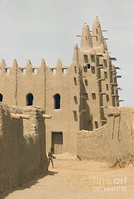 Mali Photograph - Great Mosque Of Djenne 1959 by The Phillip Harrington Collection