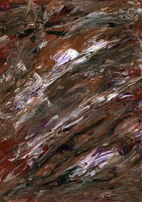 Antea Painting - Mudflow by Antea