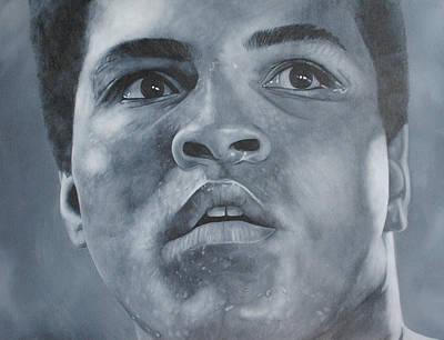 Muhammad Ali Art Painting - Muhammad Ali by David Dunne
