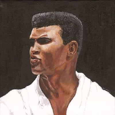 Muhammad Ali Art Painting - Muhammad Ali by Jeff Gomez