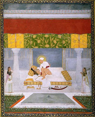 Sexual Intercourse Photograph - Muhammad Shah Making Love by British Library