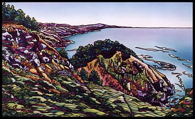 Muir Beach Overlook Print by Lisah Horner