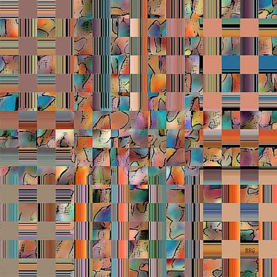 Ben Gertsberg Digital Art - Multicolored Fractured Reality by Ben and Raisa Gertsberg