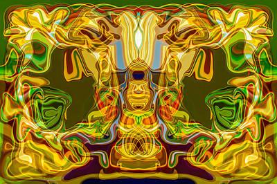Ceramic Mixed Media - Mummified by Omaste Witkowski