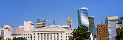 Oklahoma Photograph - Municipal Building In The Downtown by Panoramic Images