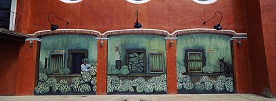 Mural On A Wall, Cancun, Yucatan, Mexico Print by Panoramic Images