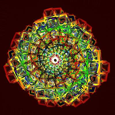 Jewelry Digital Art - Murano Glass - Red by Anastasiya Malakhova