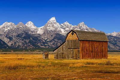 Barn Photograph - Murphy Barn by Greg Norrell