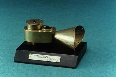Nineteenth Century Photograph - Murphy Chloroform Inhaler by Science Photo Library