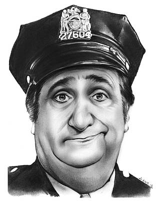 1970s Drawing - Murray The Cop by Greg Joens